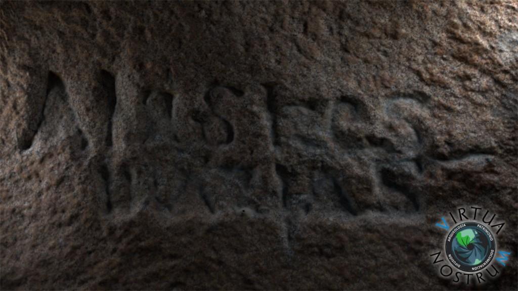Inscripción con Textura5