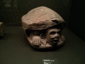 Preciosa escultura de Macuilxóchitl-Tortua. Cultura Mexica, 1500 d.C.
